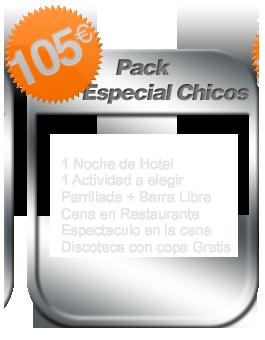 Pack especial despedida de soltero Salamanca