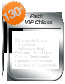 Pack ViP despedida de soltero Salamanca